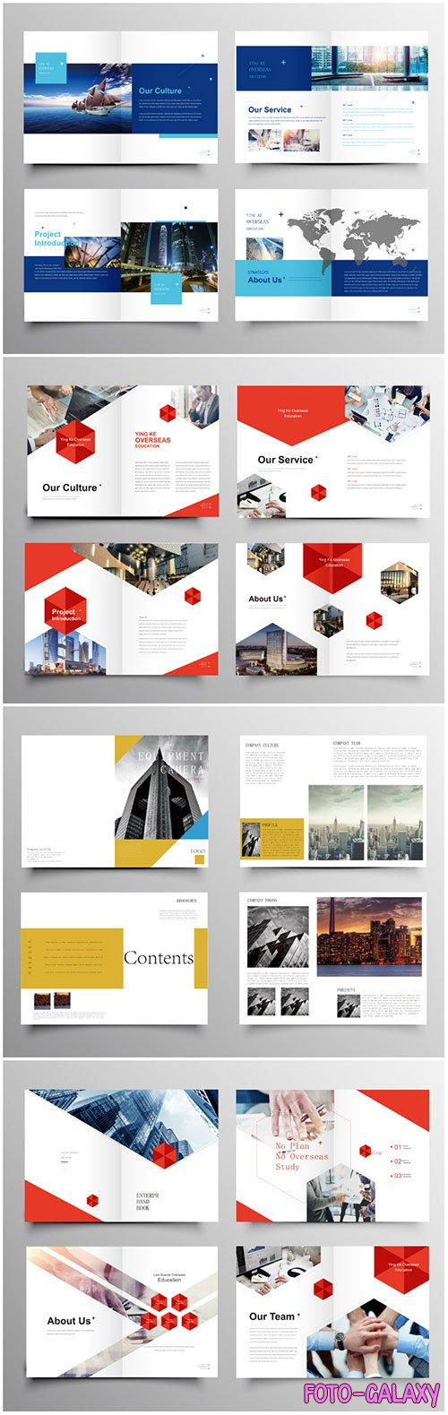 Brochure template vector layout design, corporate business annual report, magazine, flyer mockup # 231