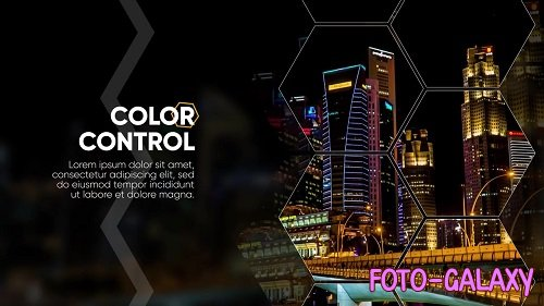Flicker Hexagon Promo 117648 - After Effects Templates