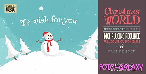 Christmas Land 19152360 - Project for After Effects (Videohive)