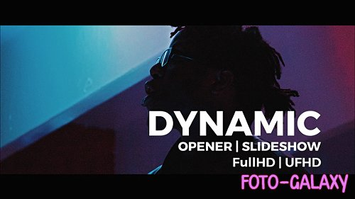 Dynamic Opener | Slideshow 20073565 - Project for After Effects (Videohive)