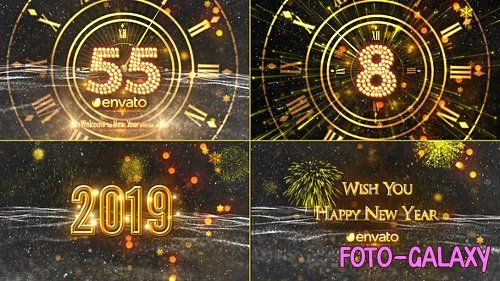New Year Countdown 2019 21080880 - Project for After Effects (Videohive)
