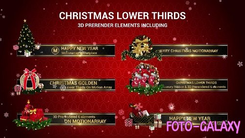 Christmas Lower Thirds 146582 - After Effects Templates