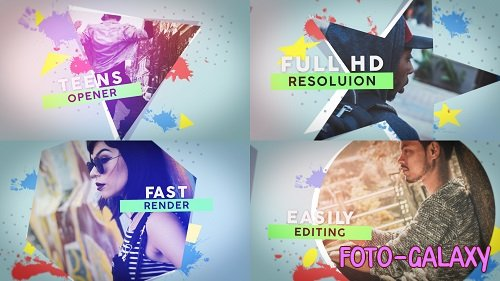 Teens Opener 135078 - After Effects Templates