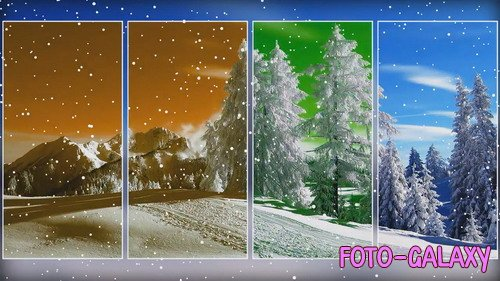 Проект ProShow Producer - Winter Wonderland