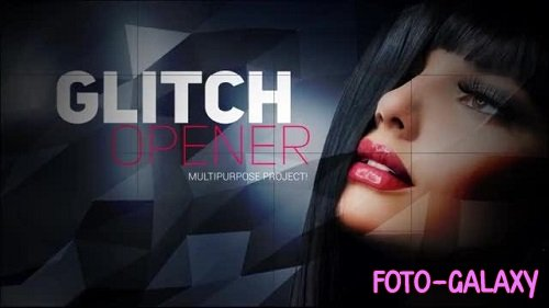 Multipurpose Glitch Opener 28439 - After Effects Templates