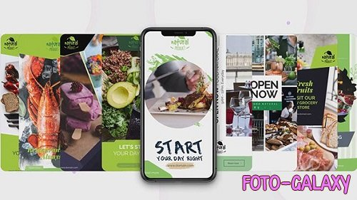 Instagram Stories: Healthy Food 165397 - After Effects Templates