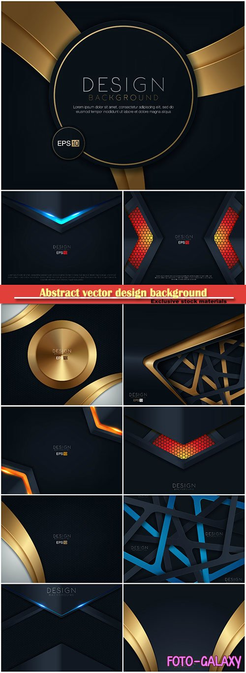 Abstract vector design background