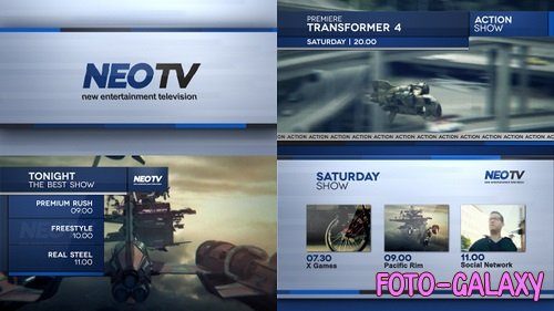 Broadcast Lines Pack 57 - After Effects Templates
