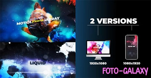 Liquid Opener 176908 - After Effects Templates