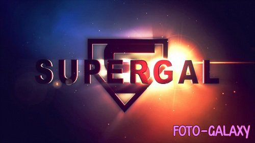 Supergal Title/logo Reveal 10 - After Effects Templates