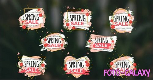Spring Sale Titles 195132 - After Effects Templates