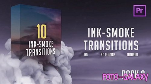 Ink-Smoke Transitions (Pack 2) 196457 - Premiere Pro Templates