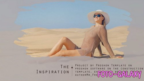Project for Proshow Producer - The Inspiration Slideshow photo