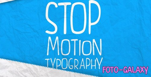 Stop Motion Typography 4626620 - Project for After Effects (Videohive)