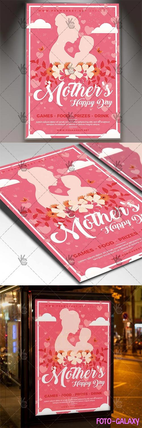 Mothers Day 2018 Flyer – Club PSD Template