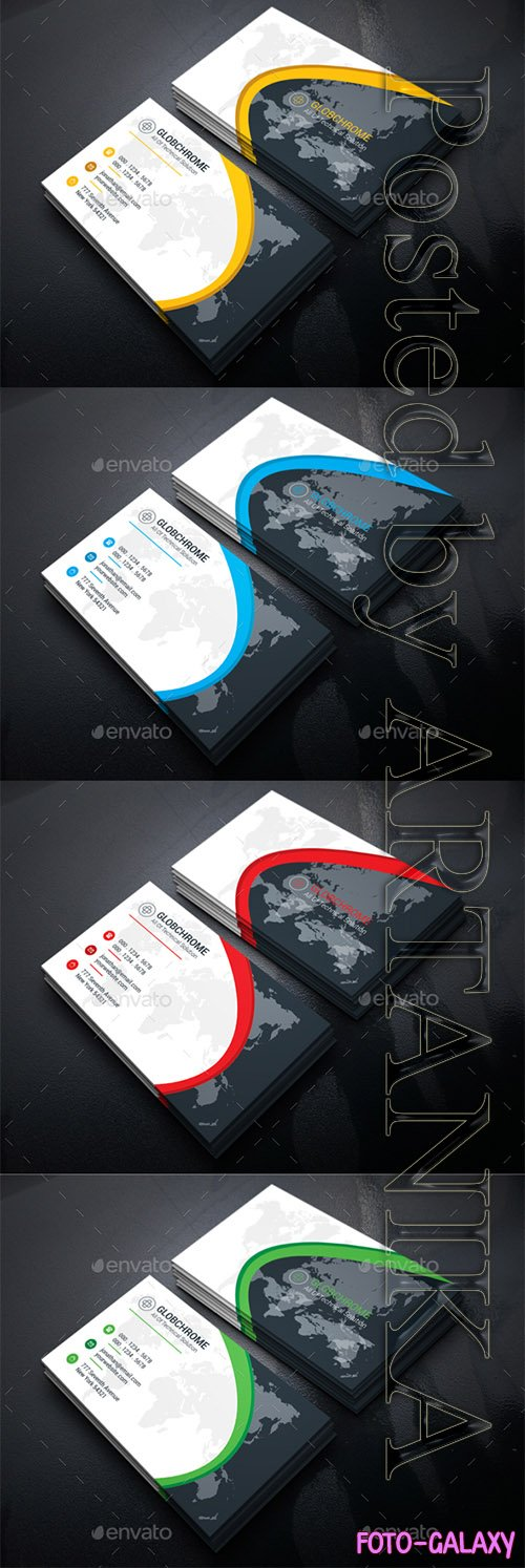 Graphicriver - Corporate Business Card 21327856