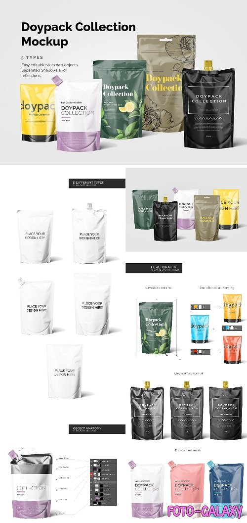 Doypack Mockup Collection - 3453939