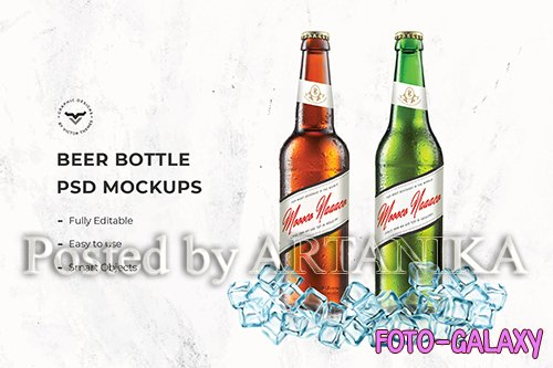Beer Bottle Mockups - G2VZ7S3