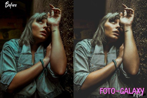 Neo Indoor Portrait Theme Color Grading photoshop actions - 255539
