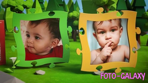 Kids Photo Album 227380 - After Effects Templates