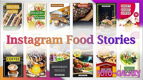 Instagram Food Stories 215213 - After Effects Templates
