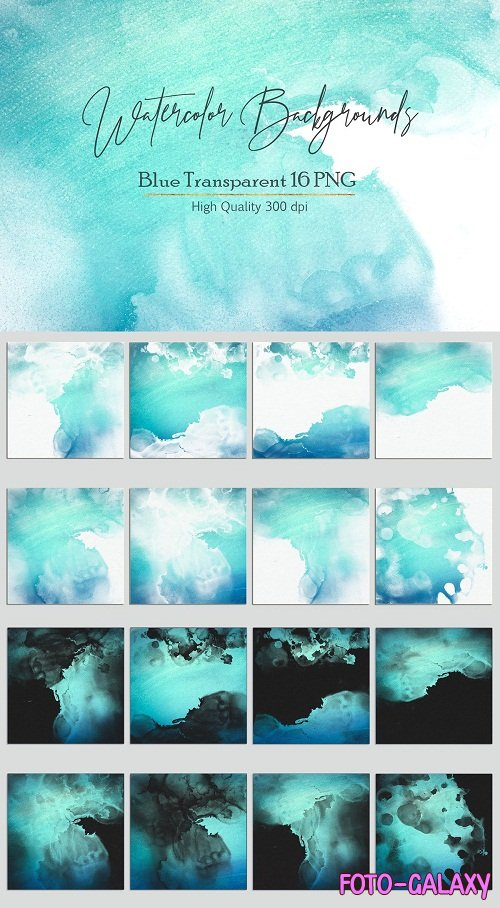Watercolor PNG Backgrounds - 2781308