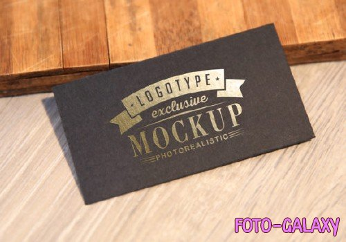Realistic Mock-ups on Vintage Background - 7-2