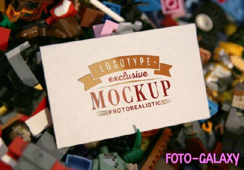 Realistic Mock-ups on Vintage Background - 15-5
