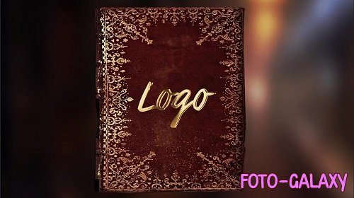 Old Book Logo Reveal 226744 - After Effects Templates