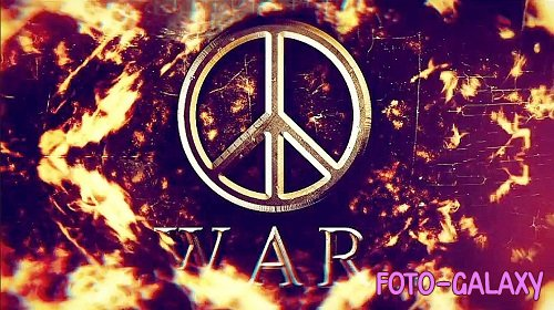 War Logo Intro 232342 - After Effects Templates