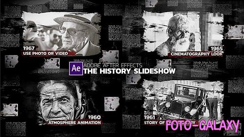 The History Slideshow 237299 - After Effects Templates