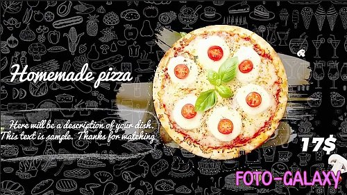 Food Menu Promo 241117 - After Effects Templates