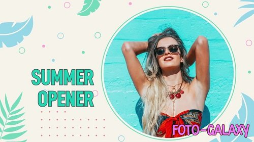 Summer Opener 255552 - Premiere Pro Templates