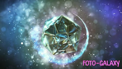 Polyhedron Glass Logo - Project for After Effects (Videohive)