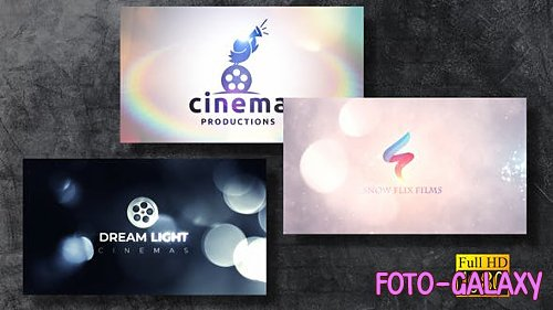 Bokeh Logo Revealers V1 - Project for After Effects (Videohive)