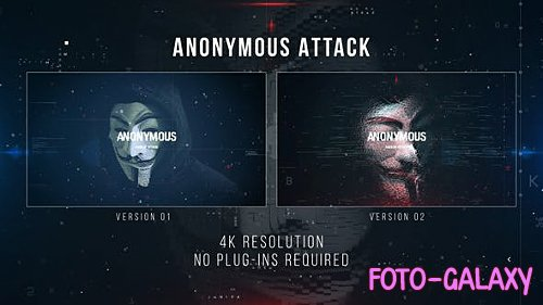 Anonymous Attack - Project for After Effects (Videohive)