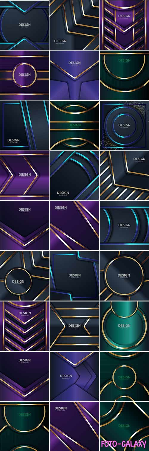 Abstract color modern background - Vector Graphics