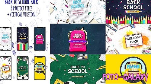 Back To School Pack 282483 - After Effects Templates