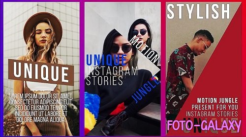 Unique Instagram Stories 278173 - After Effects Templates