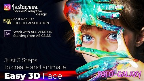 Easy 3D Face - Photo Animator 281936 - After Effects Templates