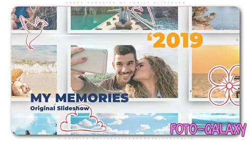 Happy Memories My Family Slideshow - Project for After Effects (Videohive)