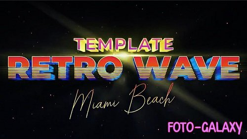 Retro Wave Intro 6 275892 - Motion Graphics Templates