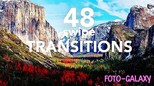 48 Transitions 294700 - Premiere Pro Templates