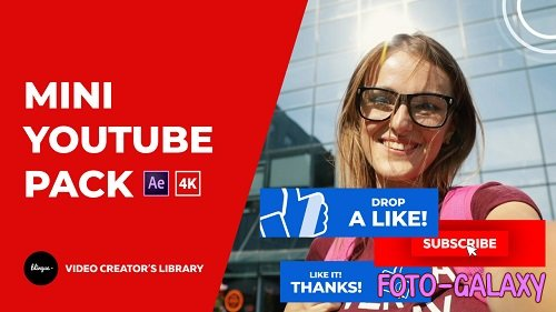 Youtube Like And Subscribe Mini Pack 294806 - After Effects Templates