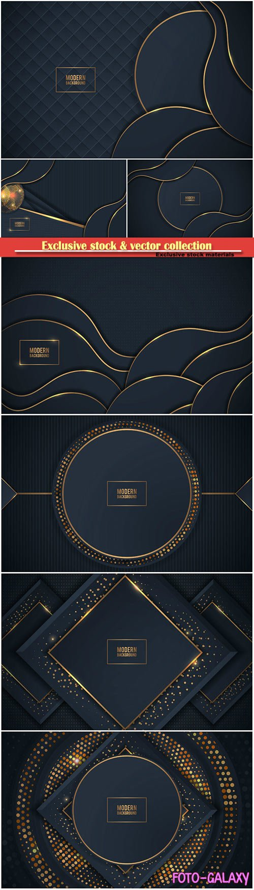 Dark gold background with overlap layer