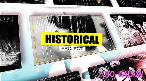 4K Documentary History Timeline 295633 - After Effects Templates