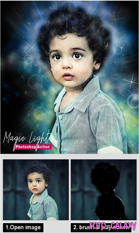 Magic Light Photoshop Action Vol 3 24622701
