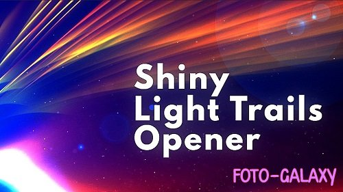 Shiny Light Trails Opener 301824 - After Effects Templates