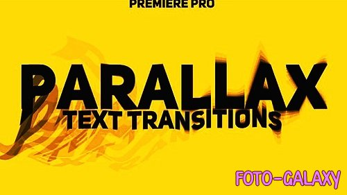 Parallax Text Transitions 313597 - Premiere Pro Templates