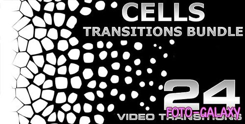Videohive - Cells Transitions Bundle 4K - 19852549